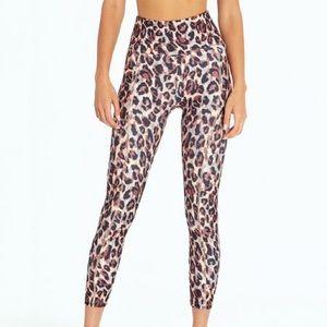 Bally Total Fitness Leopard High Waist Leggings S